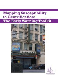 Mapping Susceptibility to Gentrification - Center for Community ...
