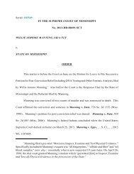 Serial - Mississippi Supreme Court