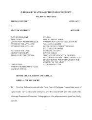 2000-KA-01657-COA - Mississippi Supreme Court