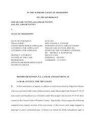 2011-KP-00106-SCT - Mississippi Supreme Court