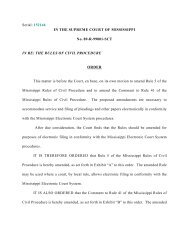 The Supreme Court amends Rule 5 and the Comment to Rule 41 of ...