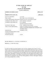 98-CA-00190-COA - Mississippi Supreme Court