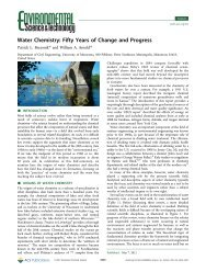 Water Chemistry - American Chemical Society Publications