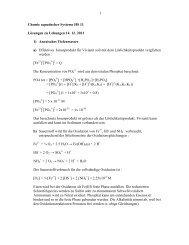 Chemie aquatischer Systeme HS 09 - Eawag