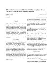 A Novel Machine Learning Based Prediction Model for ... - CS 229