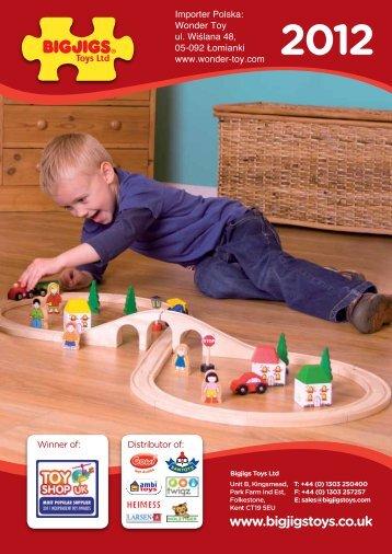 Wonder Toy ul. Wiślana 48, 05-092 Łomianki www.wonder-toy.com