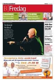 KB del B 20110107 - Kristianstadsbladet