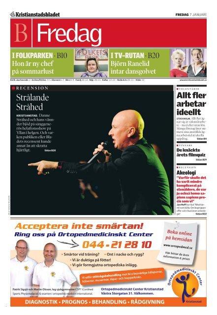 KB del B 20110107 - Kristianstadsbladet 44961227e2a33