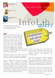 Issue 3:2009 - Infolib - Bernama