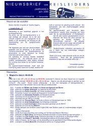 editie 06/ 2006 - Reisleidersvlaanderen
