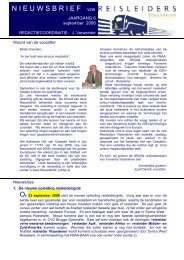 editie 09/ 2006 - Reisleidersvlaanderen