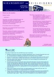 editie 01/ 2007 - Reisleidersvlaanderen