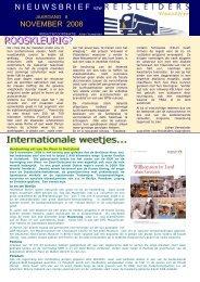 editie 11/ 2008 - Reisleidersvlaanderen