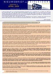 editie 04/2009 - Reisleidersvlaanderen