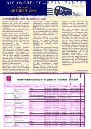 editie 10/ 2008 - Reisleidersvlaanderen