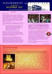 editie 12/ 2007 - Reisleidersvlaanderen