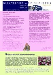 editie 02/ 2007 - Reisleidersvlaanderen