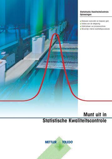 Munt uit in Statistische Kwaliteitscontrole - METTLER TOLEDO