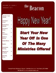 Beacon 1201-web - Colonial Woods Missionary Church