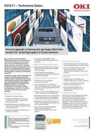 Datenblatt ES7411dn (PDF-Datei) - DSI GmbH