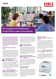 Download Datenblatt - OKI Printing Solutions - Graphic Arts