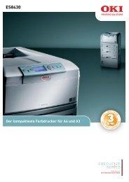ES8430 - OKI Printing Solutions - Graphic Arts