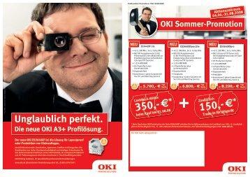 150,- € 350,- € - OKI Printing Solutions - Graphic Arts