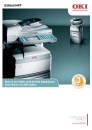 ES8460 MFP - OKI Printing Solutions - Graphic Arts