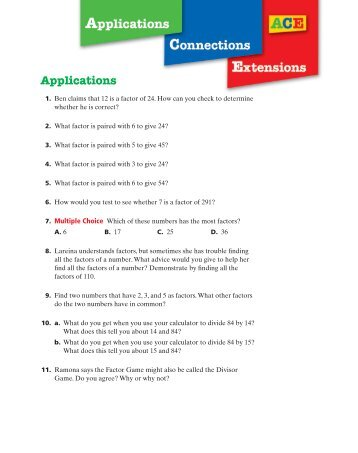 prime time ace homework answers