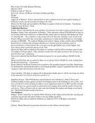 Bear Creek Township Regular Meeting March 6, 2013 Called to ...