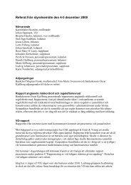 Referat från styrelsemöte den 4-5 december 2009 - JAK Medlemsbank