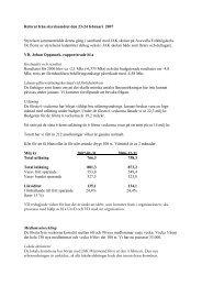 Referat från styrelsemötet den 23-24 februari 2007 - JAK ...