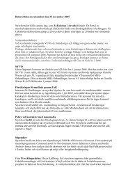 Referat från styrelsemötet den 25 november 2005 - JAK Medlemsbank