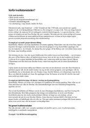 Kvalitétsmetoden i PDF-format