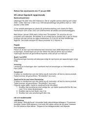 Referat från styrelsemöte den 11 januari 2008 - JAK Medlemsbank