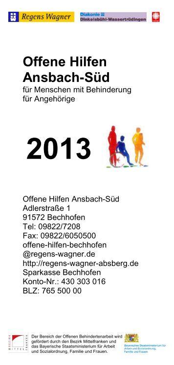 Offene Hilfen Ansbach-Süd - Regens Wagner Absberg