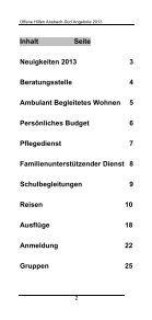 Offene Hilfen Ansbach-Süd - Regens Wagner Absberg - Page 3