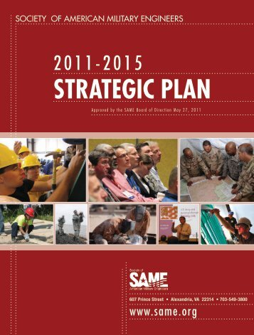 strategic plan - The Society of American Military Engineers Orange ...