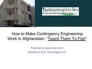 """How to Make Contingency Engineering Work in Afghanistan: """"Teach ..."""