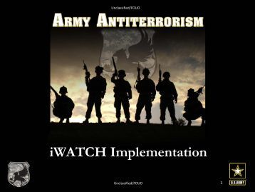 9th Annual Antiterrorism Conference Strategic Communications ...