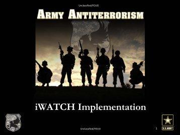 9th Annual Antiterrorism Conference Strategic Communications ...