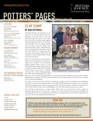 Potters' PagesVolume 12 • Issue 2 • 2012 - Ceramic Arts Daily