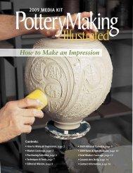How to Make an Impression - Ceramic Arts Daily