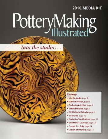 Into the studio . . . - Ceramic Arts Daily