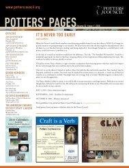 Volume10. Issue1 - Ceramic Arts Daily