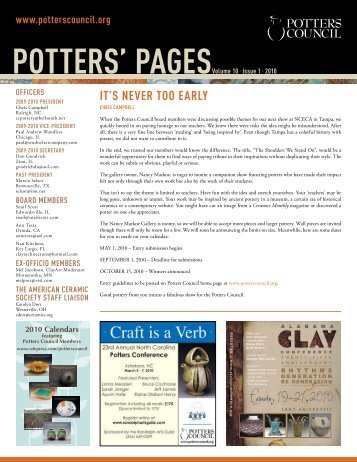 Volume10. Issue1 - Ceramic Arts Daily