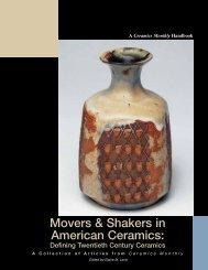 Movers & Shakers in American Ceramics: - Ceramic Arts Daily