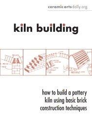 kiln building - Ceramic Arts Daily