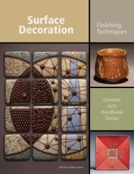 Surface Decoration - Ceramic Arts Daily