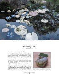 Floating Clay - Ceramic Arts Daily